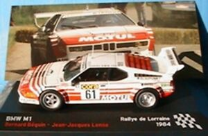BMW-M1-61-BEGUIN-LENNE-RALLYE-DE-LORRAINE-1984-IXO-1-43-ALTAYA-MOTUL-RALLY