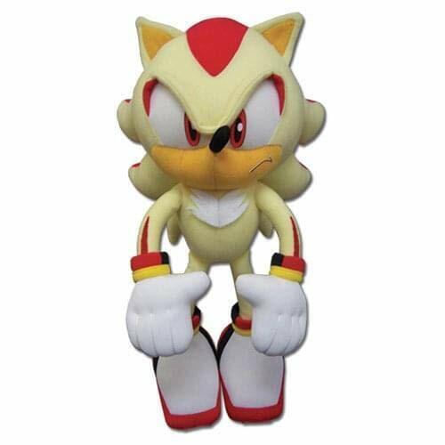 """Original Sonic The Hedgehog Super Shadow Plüsch 12 /"""" GE-52631 Letzte Im Lager"""