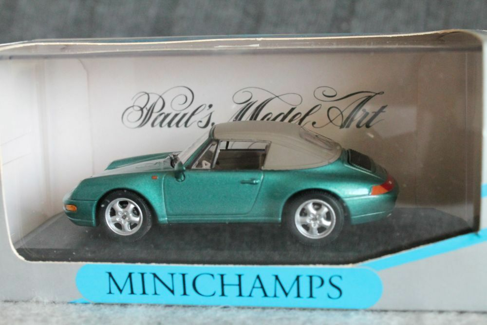 Minichamps  Porsche 911 (993) Carrera Cabriolet  BOXED  1 43  RAR