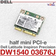 Wi-Fi WLAN WIRELESS CARD NETZWERKKARTE FÜR DELL MINI PCI-E DW1540 03676J NEW D20