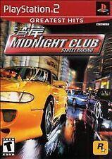 Midnight Club: Street Racing - PlayStation 2 Rockstar Games Video Game