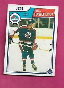 1983-84-OPC-385-JETS-DALE-HAWERCHUK-2ND-YEAR-CARD-INV-C0654