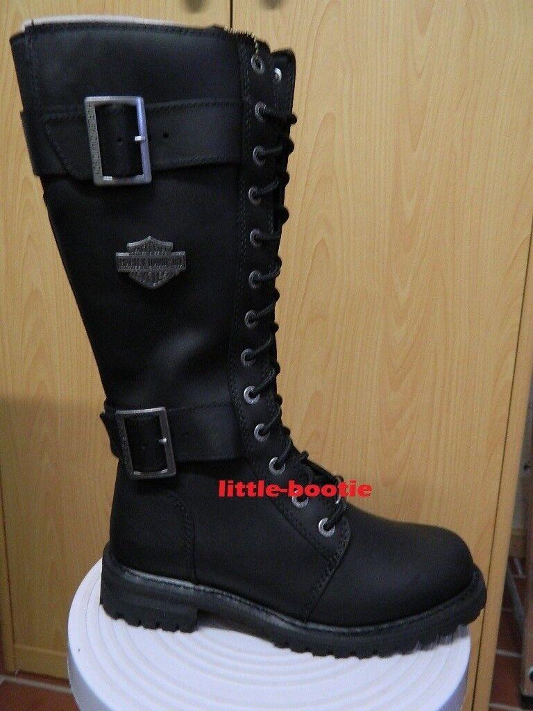 HARLEY-DAVIDSON stivali Stivali da donna mis. 40-Belhaven nero guarda foto  | Qualità Affidabile  | Scolaro/Ragazze Scarpa