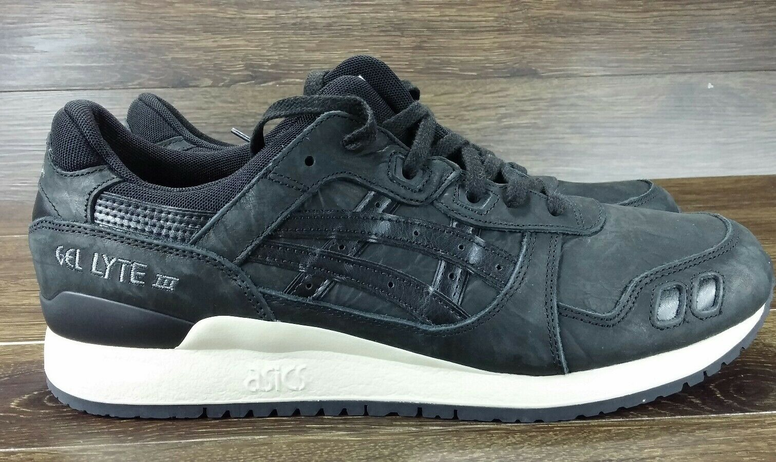 Asics Tiger Men's Sneakers Gel-Lyte III Black Black HL7V3-9090 Men 12