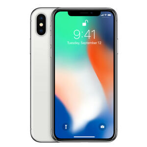 Apple-iPhone-X-256Go-Debloque-Argent