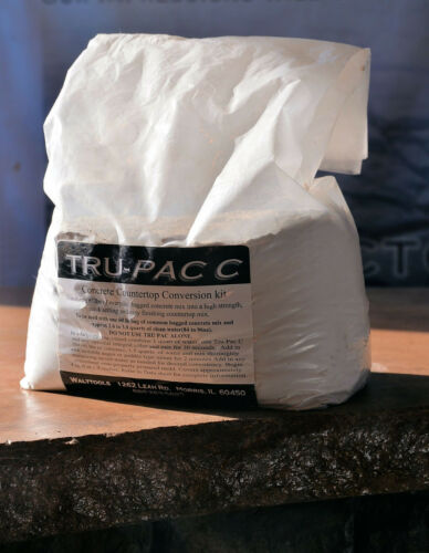 Walttools Tru Pac CConcrete Countertop Mix Ad Pac