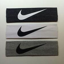 3 Nike Headbands. 2.25 Inch Wide. FREE SHIPPING!