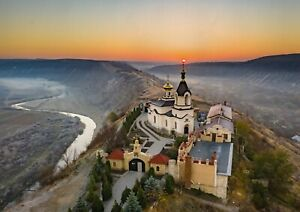 A1-Old-Orhei-Monastery-Poster-Art-Print-60-x-90cm-180gsm-Moldova-Gift-12633