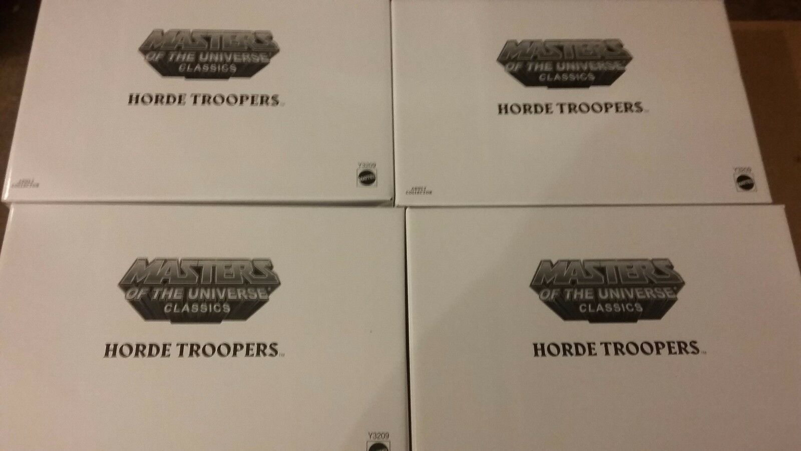 MOTU Classics 8 Figurer Horde Trooper 2pack 4X Ship Worldbred ny