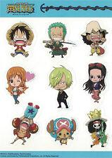 **License** One Piece SD Straw Hat Pirates New World Members Sticker Set #55523