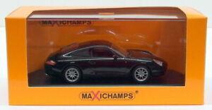 Maxichamps-Diecast-Escala-1-43-de-940-061020-a-2001-Porsche-911-carrera-Negro