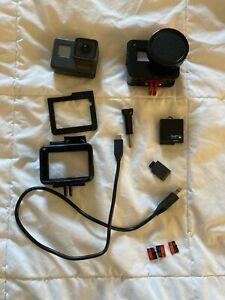 Go-Pro-HERO-5-with-CASE-NO-SD-CARDS-BATTERY