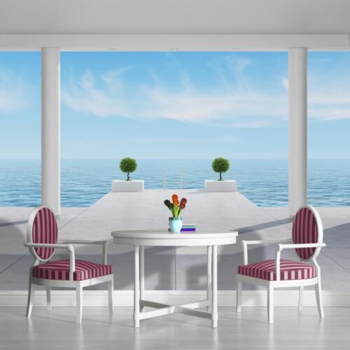 Nappes papier peint papiers peints photos papier peint poster la fresque mer regard Ocean 1324 ve