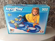 Vintage # Console Aquaplay 502 Canal Lock Water Playset #Nib