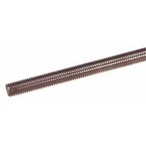 Tiges filetées inox A2 - longueur 1 m - diamètre 5 mm ACTON