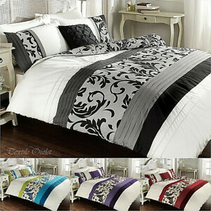 DUVET-COVER-BEDDING-SET-WITH-2-PILLOWCASES-QUILT-COVER-SINGLE-DOUBLE-KING-SIZE