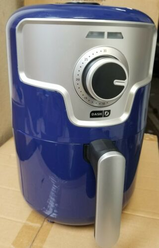 DASH 1.6-QUART RAPID AIRFRYER BLUE COLOR DCAF150HNBU