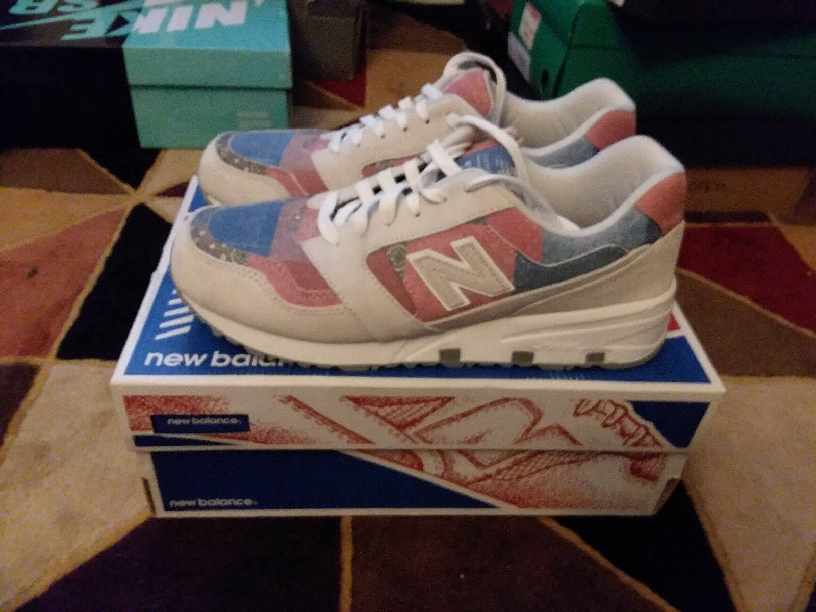 Concepts x New Balance 575  M80  Dimensione 10.5 VNDS MD575CP 2015