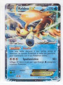 Pokemon Kaldeo EX BW61 Promo Rara Holo ★ ITALIANO