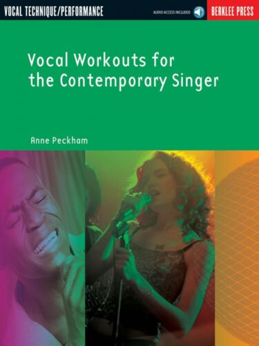 Vocal Workouts for the Contemporary Singer Book and Audio NEW Berklee 050448044