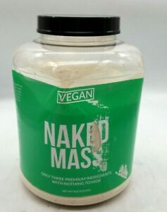 NAKED MASS - Natural Weight Gainer Protein Powder - 8lb