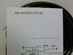 Schema Elettrico Wiring Diagram : Impianto elettrico electrical wiring moto mv agusta css con