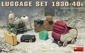 Miniart-1-35-Lot-de-bagages-1930-40-039-s-Model-Kit