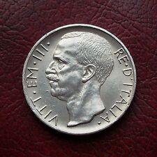 Italy 1927 silver 10 lire