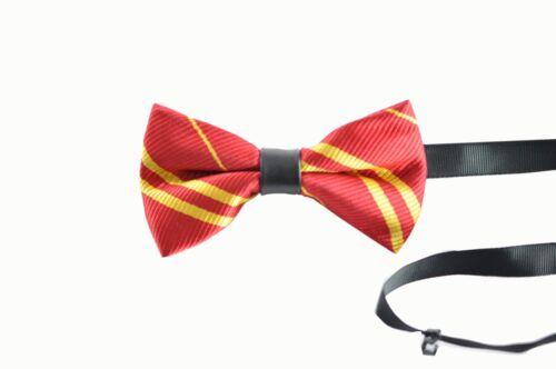 Men Women Unisex Harry Potter Costume Gryffindor Bowtie Bow Tie Party Book