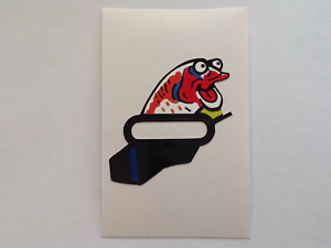 Williams Red and Ted's Roadshow pinball machine start city event fish decal