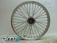"1989 Kawasaki KX500 21"" Front Wheel, Rim, Hub, For Parts, OEM, 89-04 KX 500"
