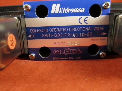Hydraulic Hidraman Solenoid Valve SWH-G02-C3-A110-20 Northman