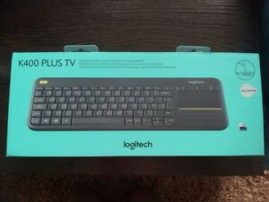 Image is loading Logitech-Wireless-Touch-Keyboard-k400-Plus-Russian -alphabet- 3d047299e50bf