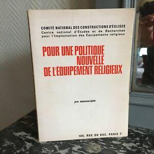 rapport Capellade Pour une politique nouvelle de l'équipement religieux 1971