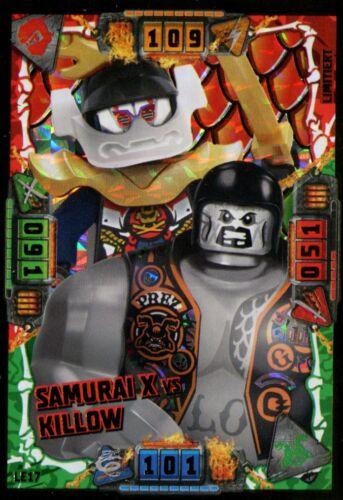 Lego Ninjago Serie 4 Trading Card Game limitierte Goldkarten aussuchen LE1-LE25