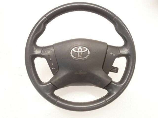 Toyota Avensis T25 2.0D4D 93kw 2006 LHD Steering wheel 4513005112A 8 Pin