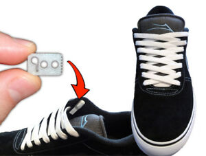 detailed look 1acca 58fec Image is loading Lace-Anchors-Shoe-Lace-locks-Never-Tie-Your-