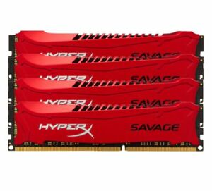 Pour-Kingston-HyperX-Savage-4GB-8GB-16GB-2133MHz-DDR3-PC3-17066-Desktop-RAM-Red