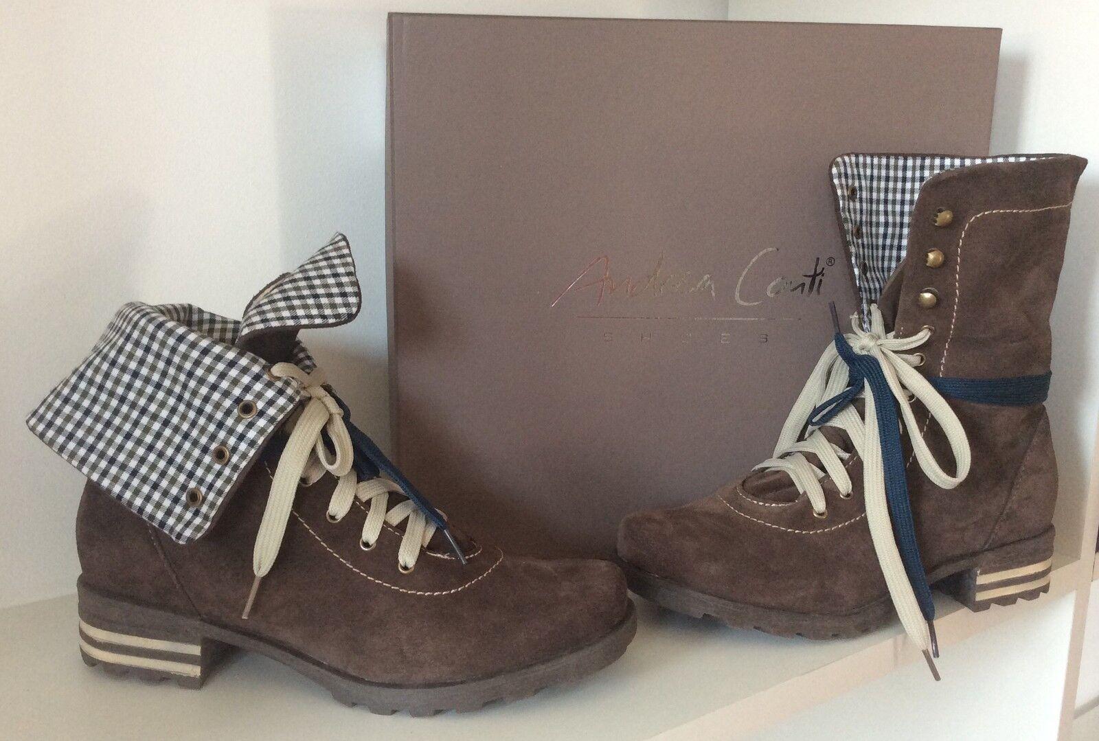 Trachtenschuhe, Stiefeletten, Gr. 36, Ankle Stiefel, braun, Stiefelies, blogger,  | Moderater Preis
