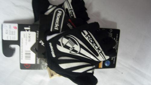 Roeckl bicicleta guantes Badia Black//White 3101-350 009 dif tamaños