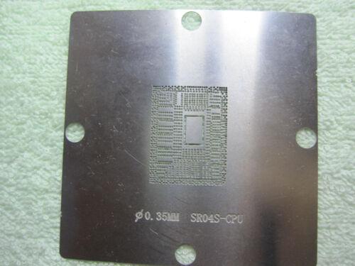 8*8 SR109 1007U G23902 SR0XG SR0XL SR0N8 SR0DQ SR0N7 SR0N5 SR0NO SR0N0 Stencil