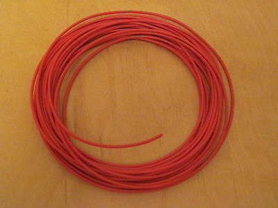 Stranded equipment wire orange x  10 metres 7//0.2mm for hornby peco