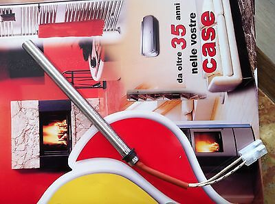 RESISTENZA A CARTUCCIA 160mm x 12,5mm 230V 350W  RESISTENZA PELLET