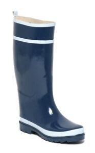Moderna-Mujer-Botas-de-Agua-Talla-37-Regengummistiefel-Goma-Botas-Azul
