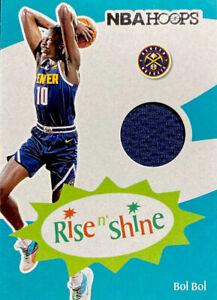 🔥 2019-20 Bol Bol RC NBA Hoops Basketball Rise N' Shine Jersey Patch NUGGETS