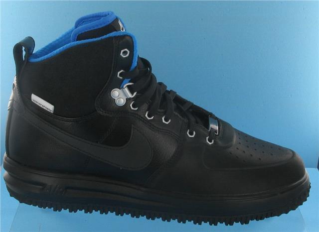 1 scarpe da ginnasticaavvio forza lunare, mens formatori, nero nero nero   blu (uk numero 9) | Apparenza Estetica  | Uomini/Donna Scarpa  82f56e