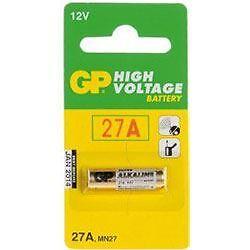 Value Range GP27A 12V Alkaline Battery 27A