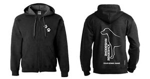 Clothing, Shoes & Accessories Exclusive Dogeria Design Comfortable And Easy To Wear Hoodies & Sweatshirts Objective Rhodesian Ridgeback Full Zipped Dog Breed Hoodie