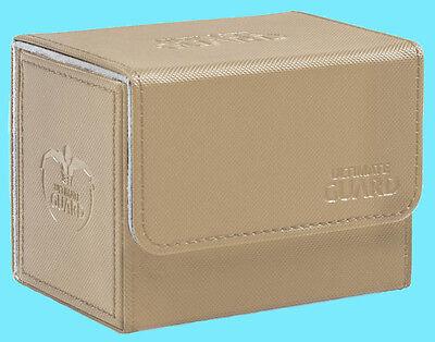 DECK CASE Side Loading Card Box MTG ULTIMATE GUARD XENOSKIN WHITE SIDEWINDER 80