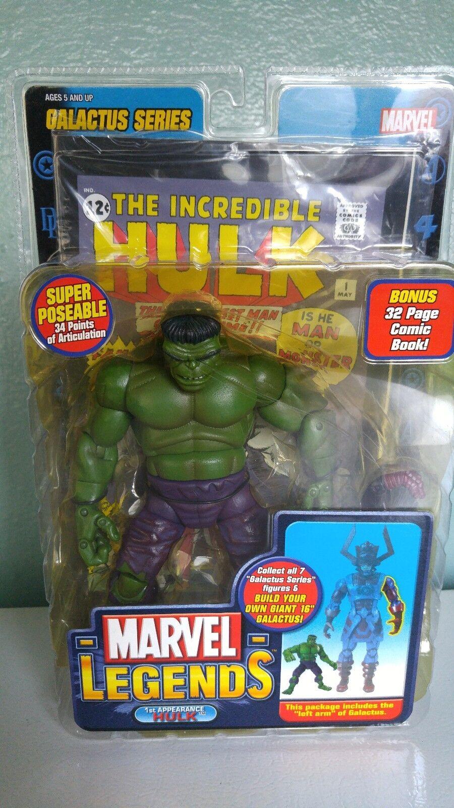 Hulk 1st Appearance Galactus Series  Marvel Legends 2005  negozio d'offerta